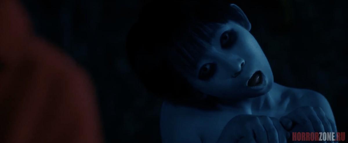 Садако против Каяко, кадр из фильма