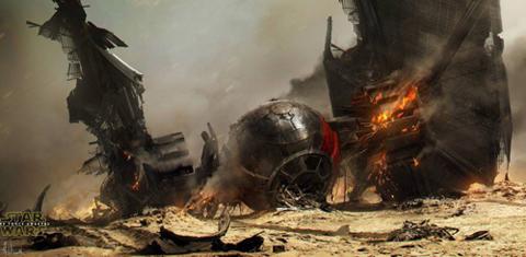 Концепт-арт Звездные войны пробуждение Силы_