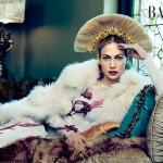 Джей Ло украсила страницы нового номера Harper's Bazaar